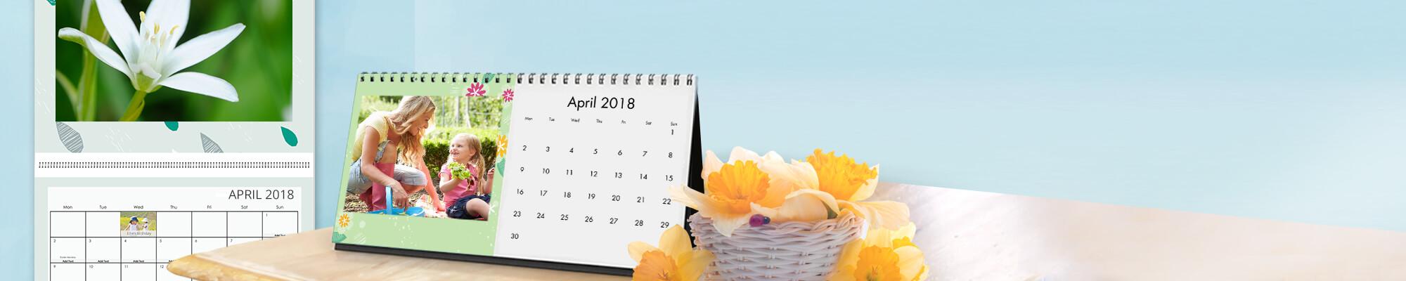 Enjoy A Smile A Day With Your Photo Calendar