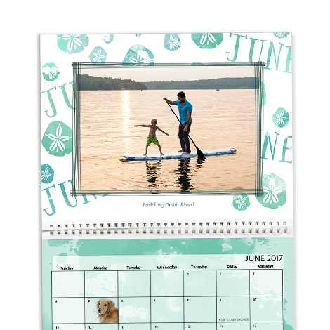 A2 Premium Wall Calendar
