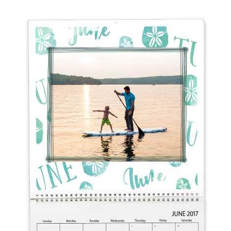 Square Premium Wall Calendar