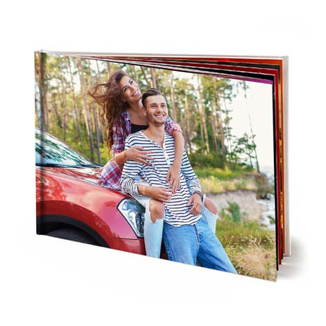 Image of 11.5x15.5 (28x40cm) Hardcover Photo Book