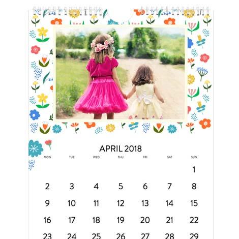 A3 Standard Photo Calendar From £18.99