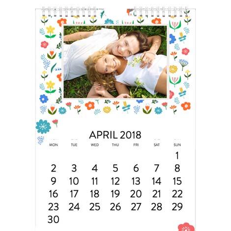 A4 Standard Photo Calendar From £14.99