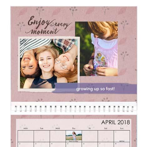 A2 Premium Photo Calendar From £21.99