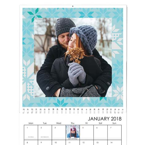 Square Premium Wall Calendar - £21.99