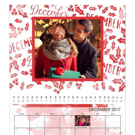 A2 Premium Wall Photo Calendar - £21.99