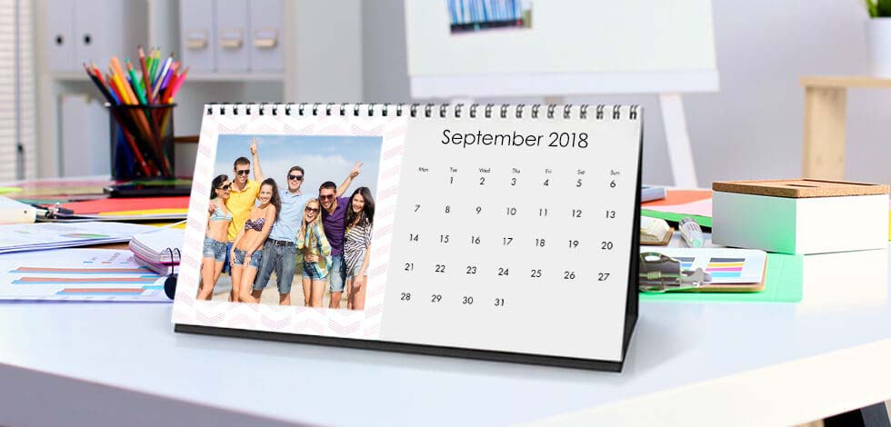 Personalised Photo Calendar From £11.99