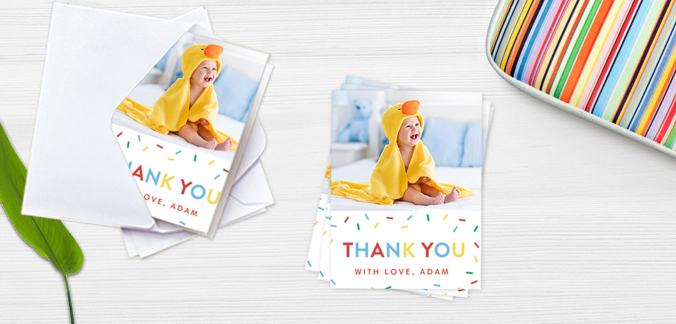 Personalised Note Cards - From 83p