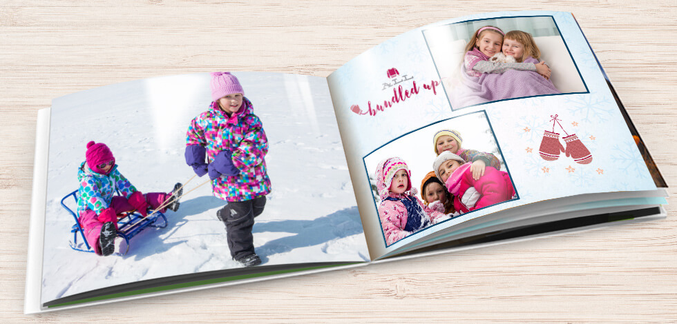 Hardcover glossy page books