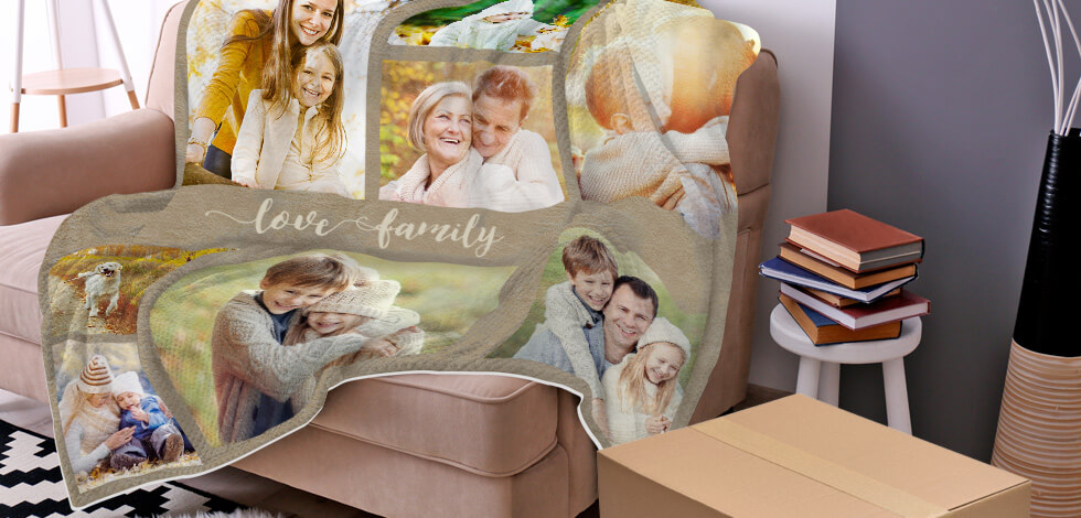 Personalised Photo Blanket Just £59.99