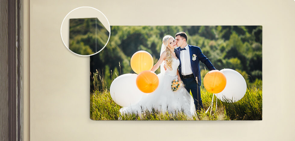 Classic Personalised Canvas Prints From £24.99