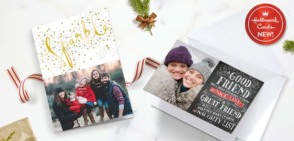 Personalised Christmas Cards - Hallmark