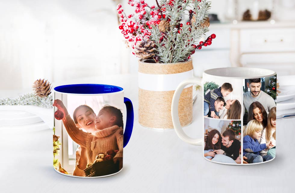 Personalised Photo Mugs - From £7.99